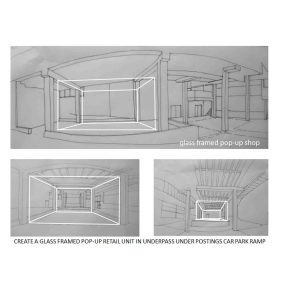 LINEAR POWERPOINT DRAWINGS FOR AN INSTALLATION