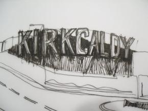 KIRKCALDY SIGN