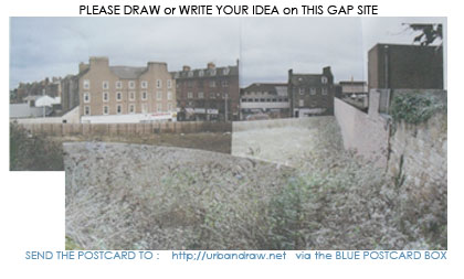 GAP SITE AT CORNER OF OSWALD WYND and HIGH STREET